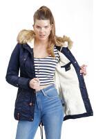 Navahoo LaViva warm ladies winter jacket with teddy fur