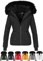 Navahoo Adele ladies winter jacket warm lined teddy fur
