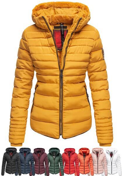 Marikoo Amber Ladies winterjacket quilted Jacket lined