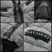 Navahoo Ronin Damen Steppjacke mit Teddyfell