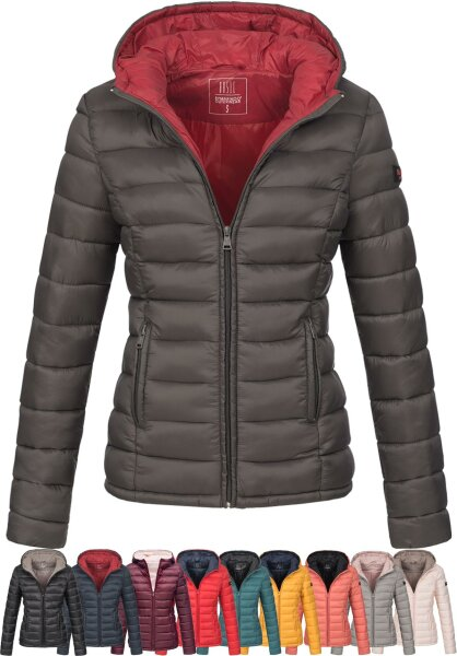 Marikoo Lucy ladies quilted jacket with hood