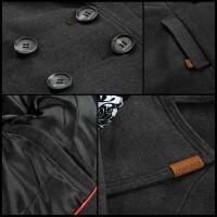 Navahoo Wooly Damen Trenchcoat Winter Mantel