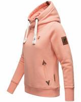 Navahoo Damen Sweatshirt Hoodie mit Kapuze