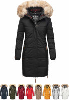 Navahoo Halina ladies winter quilted coat with faux fur