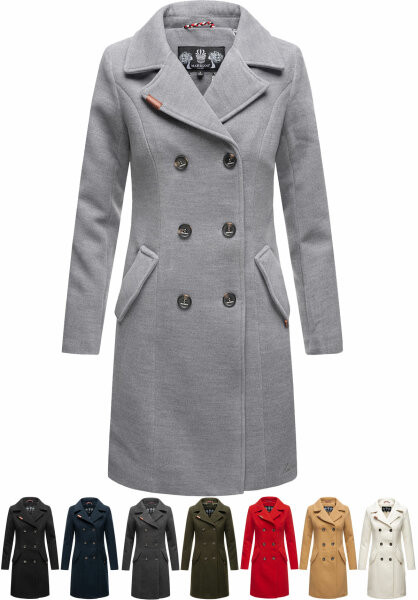Marikoo Nanakoo Damen Trenchcoat Wintermantel