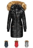 Navahoo Zuckerle ladies quilted winter jacket with fur...