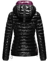 Marikoo ladies winter quilted jacket with hood