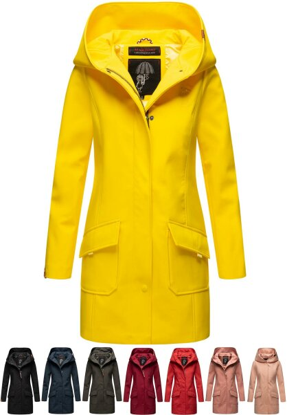 Marikoo Mayleen ladies softshell rain jacket with hood