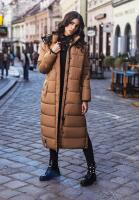 Navahoo Isalie ladies long winter jacket quilted